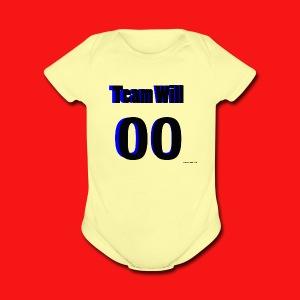Team Will - Short Sleeve Baby Bodysuit