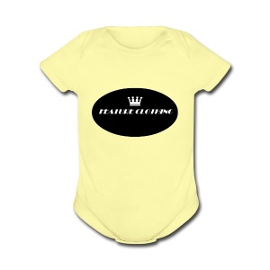 FEATURE_BRAND - Short Sleeve Baby Bodysuit