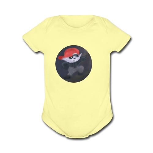 L1D2 - Organic Short Sleeve Baby Bodysuit
