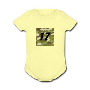 CAMO 17 - Short Sleeve Baby Bodysuit