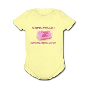 Fight Bub - Short Sleeve Baby Bodysuit