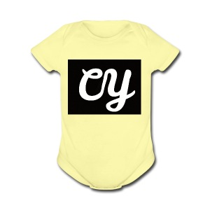 YasdeCaiters Merchandise - Short Sleeve Baby Bodysuit