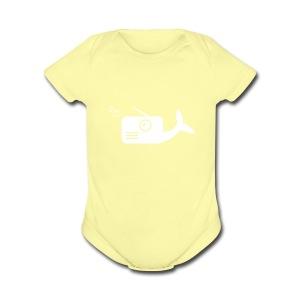 WhaleRadio Shirt - Short Sleeve Baby Bodysuit