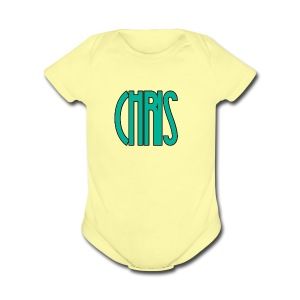 IMG_1557 - Short Sleeve Baby Bodysuit