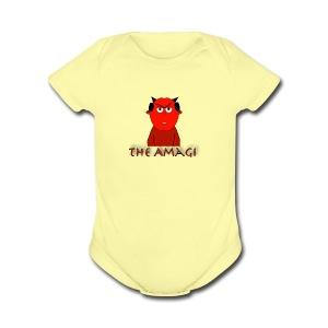 Garbler Design 2 - Short Sleeve Baby Bodysuit