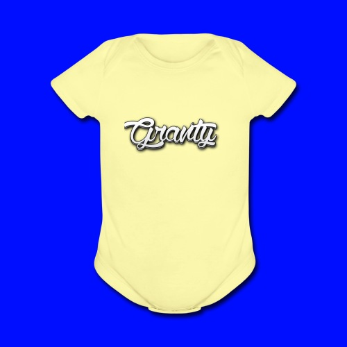 Official Logo of Granty - Organic Short Sleeve Baby Bodysuit