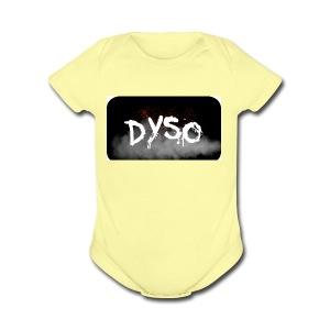 Dyso Platinum design - Short Sleeve Baby Bodysuit