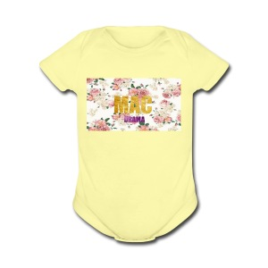 drama - Short Sleeve Baby Bodysuit