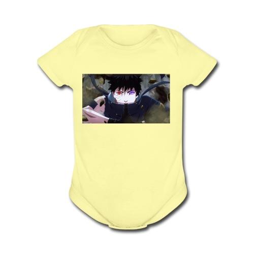 Gam3r ware2 - Organic Short Sleeve Baby Bodysuit