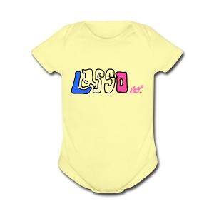 Drawing - Short Sleeve Baby Bodysuit