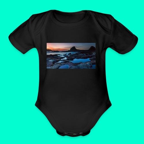 the best design - Organic Short Sleeve Baby Bodysuit