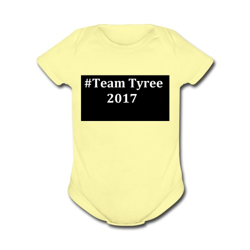 Team_tyree - Organic Short Sleeve Baby Bodysuit