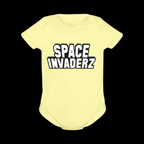 Space Invaderz - Organic Short Sleeve Baby Bodysuit