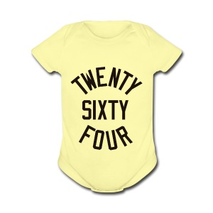 Twenty Sixty Four - Short Sleeve Baby Bodysuit