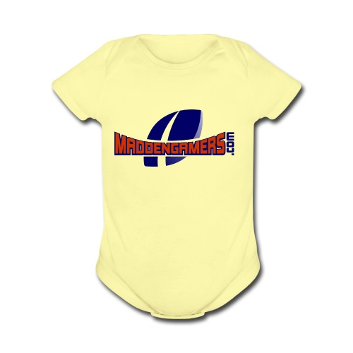 MaddenGamers - Organic Short Sleeve Baby Bodysuit