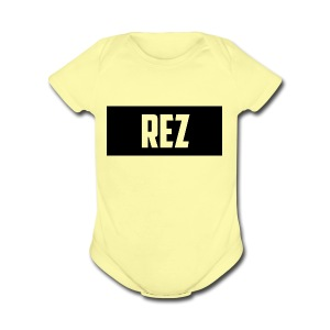 NEW_DESIGN_SHIRT - Short Sleeve Baby Bodysuit