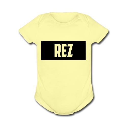 NEW_DESIGN_SHIRT - Organic Short Sleeve Baby Bodysuit