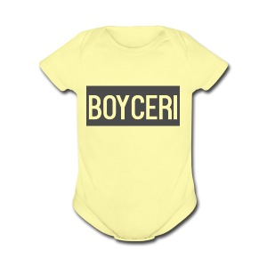 boyceri - Short Sleeve Baby Bodysuit