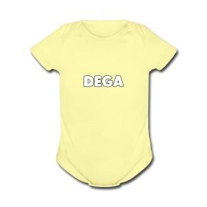 dega shirt - Short Sleeve Baby Bodysuit