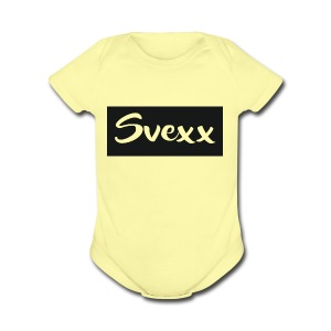Svexx - Short Sleeve Baby Bodysuit