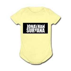 bling bling jonathan suryana - Short Sleeve Baby Bodysuit