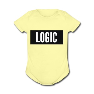 Logic Bold Logo - Short Sleeve Baby Bodysuit