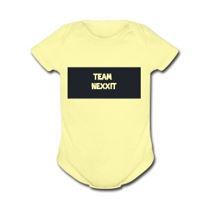 Team Nexxit Logo - Short Sleeve Baby Bodysuit