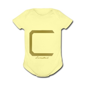 Cyberonic Gold Limited Edition - Short Sleeve Baby Bodysuit