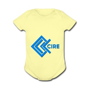 Cire Clothing - Short Sleeve Baby Bodysuit