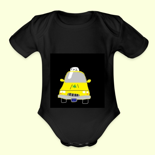Kush Cab - Organic Short Sleeve Baby Bodysuit