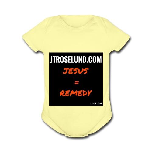 JTRoselund.com Merchandise - Organic Short Sleeve Baby Bodysuit
