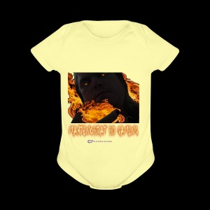 Martinoheat HD Gaming button - Short Sleeve Baby Bodysuit