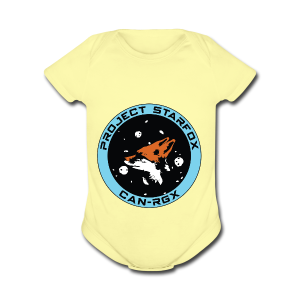 Project STARFOX Logo - Short Sleeve Baby Bodysuit