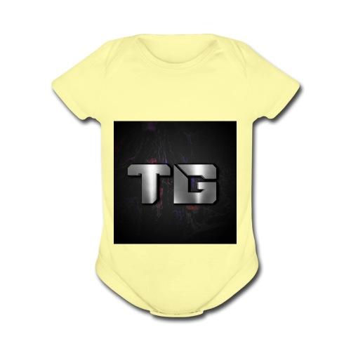 hoodies and spread shirts - Organic Short Sleeve Baby Bodysuit