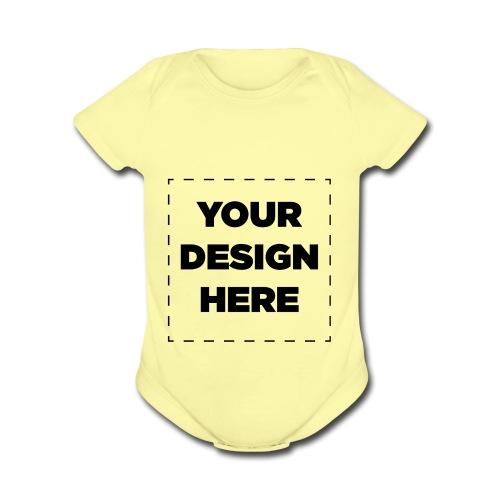 Name of design - Organic Short Sleeve Baby Bodysuit