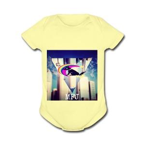 MagicolFlapJackal - Short Sleeve Baby Bodysuit