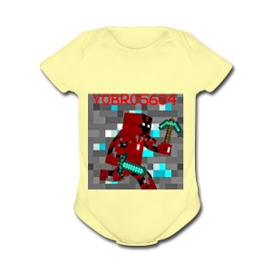 Yobro5604 icon for youtube channel - Short Sleeve Baby Bodysuit