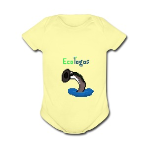 Pixel Sea Lamprey - Short Sleeve Baby Bodysuit