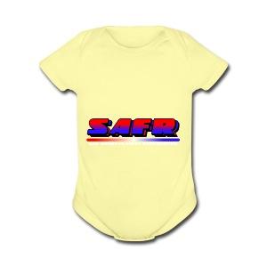 SAFR Logo - Short Sleeve Baby Bodysuit