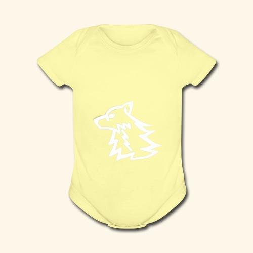 iFire Hoodie - Organic Short Sleeve Baby Bodysuit