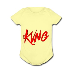 KVNG clothing ENT - Short Sleeve Baby Bodysuit