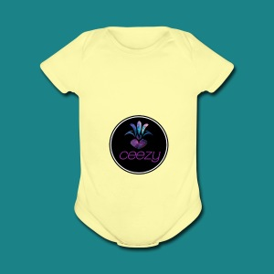 Outerspace - Short Sleeve Baby Bodysuit