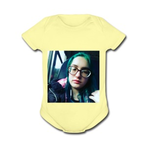 The Awesomeness Bus Selfie - Short Sleeve Baby Bodysuit