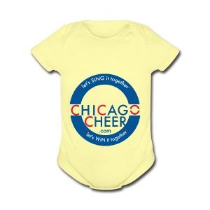 ChicagoCheer.Com - Short Sleeve Baby Bodysuit