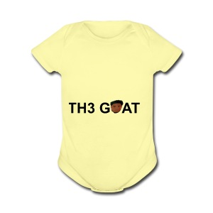 The goat cartoon - Short Sleeve Baby Bodysuit