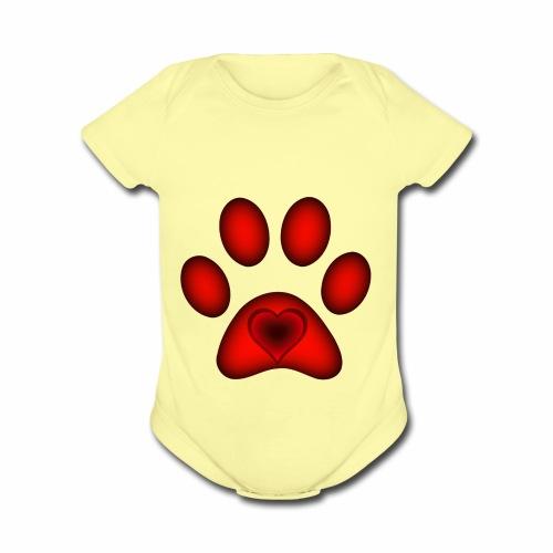 Love of Animals (CHARITY SHIRT) - Organic Short Sleeve Baby Bodysuit
