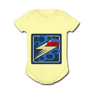 Rimps Logo Flash - Short Sleeve Baby Bodysuit