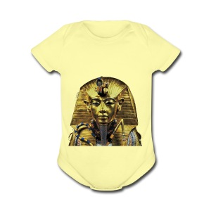 Tutankhamun Pharaoh of Egypt Products and T-shirts - Short Sleeve Baby Bodysuit