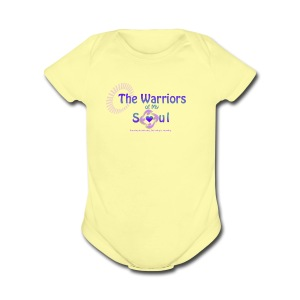 The Warriors of My Soul - Short Sleeve Baby Bodysuit
