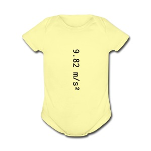 9.82 - Short Sleeve Baby Bodysuit